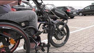 Hybrid Rollstuhl Power Antrieb Sopur