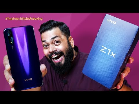 vivo Z1x Unboxing & First Impressions ⚡⚡⚡ Another Winner From vivo??