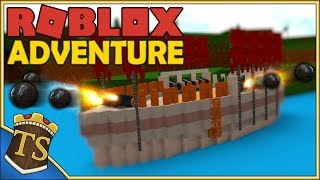 Danish Roblox | Build A Boat For Treasure-builds giant warship!