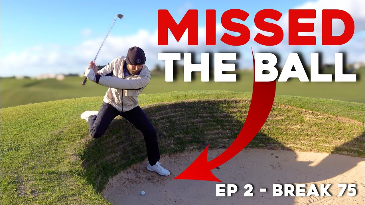 Links golf almost DESTROYED me! #Break75 EP2