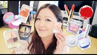 Japanese Makeup Haul: Jill Stuart, Majolica Majorca, Kate, Canmake