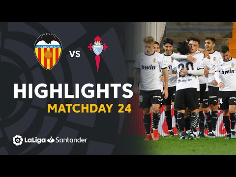 Valencia Celta Vigo Goals And Highlights