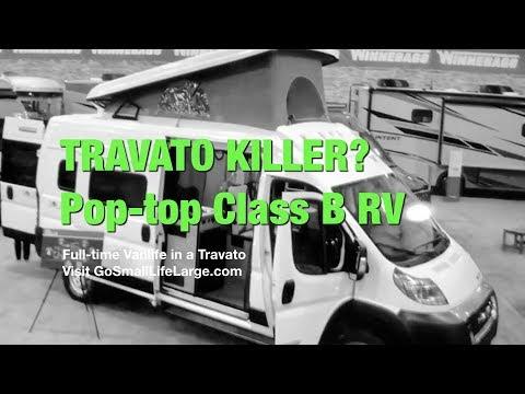 TRAVATO KILLER? Meet Solis, Pop-Top Class B RV | Full-time Vanlife in a Travato