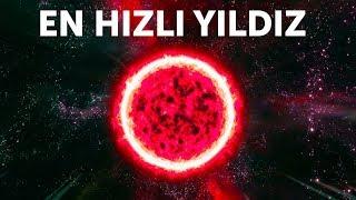 Galaksimizden Geçen Gelmiş Geçmiş En Hızlı Yıldız