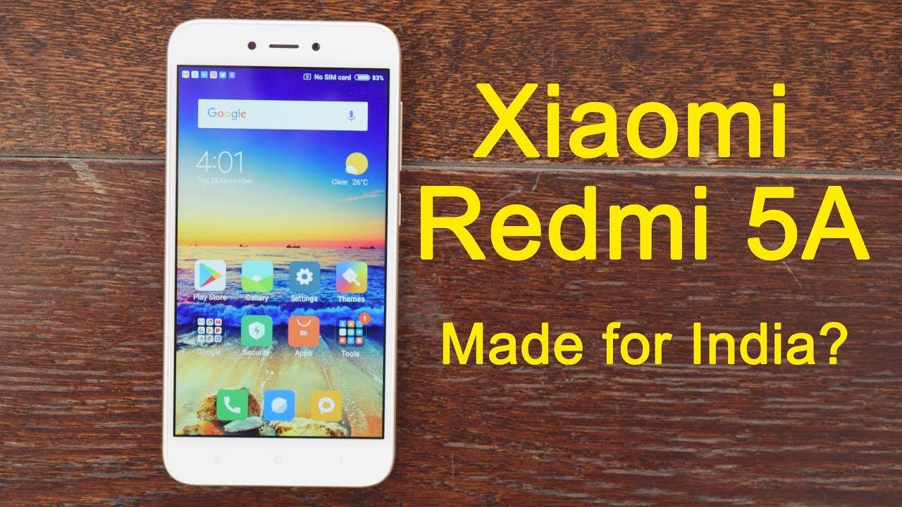 Xiaomi Redmi 5A launched: Full specs, top features, India