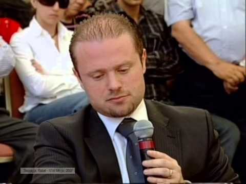 John Bundy interviews Joseph Muscat in Rabat 10 May 2009