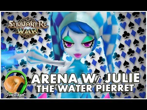 SUMMONERS WAR : Arena w/ Julie the Water Pierret