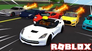 WE'RE FINALLY BACK! RACING FANS IN WESTOVER!! (Roblox Ultimate Driving)