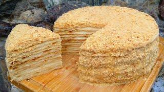 Самый Вкусный Торт Медовик Тающий во рту Медовый Торт Рецепт Классический Медовик