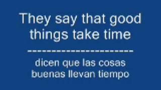 One in a Million - Hannah Montana (english - spanish lyrics)