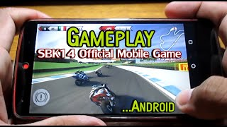 Gameplay SBK14 Official Mobile Game Android