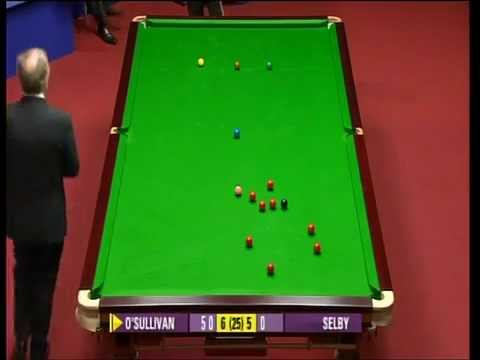 Ronnie O'Sullivan tells Referee to get his...