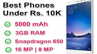 Best Android Smartphones Under Rs. 10000