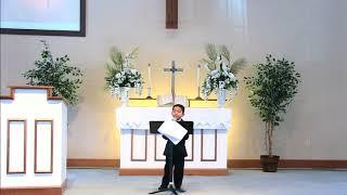 Dos milagros de Jesús - Alejandro Cardenas (culto de niños)
