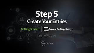 RDM - Step 5: Create Entries