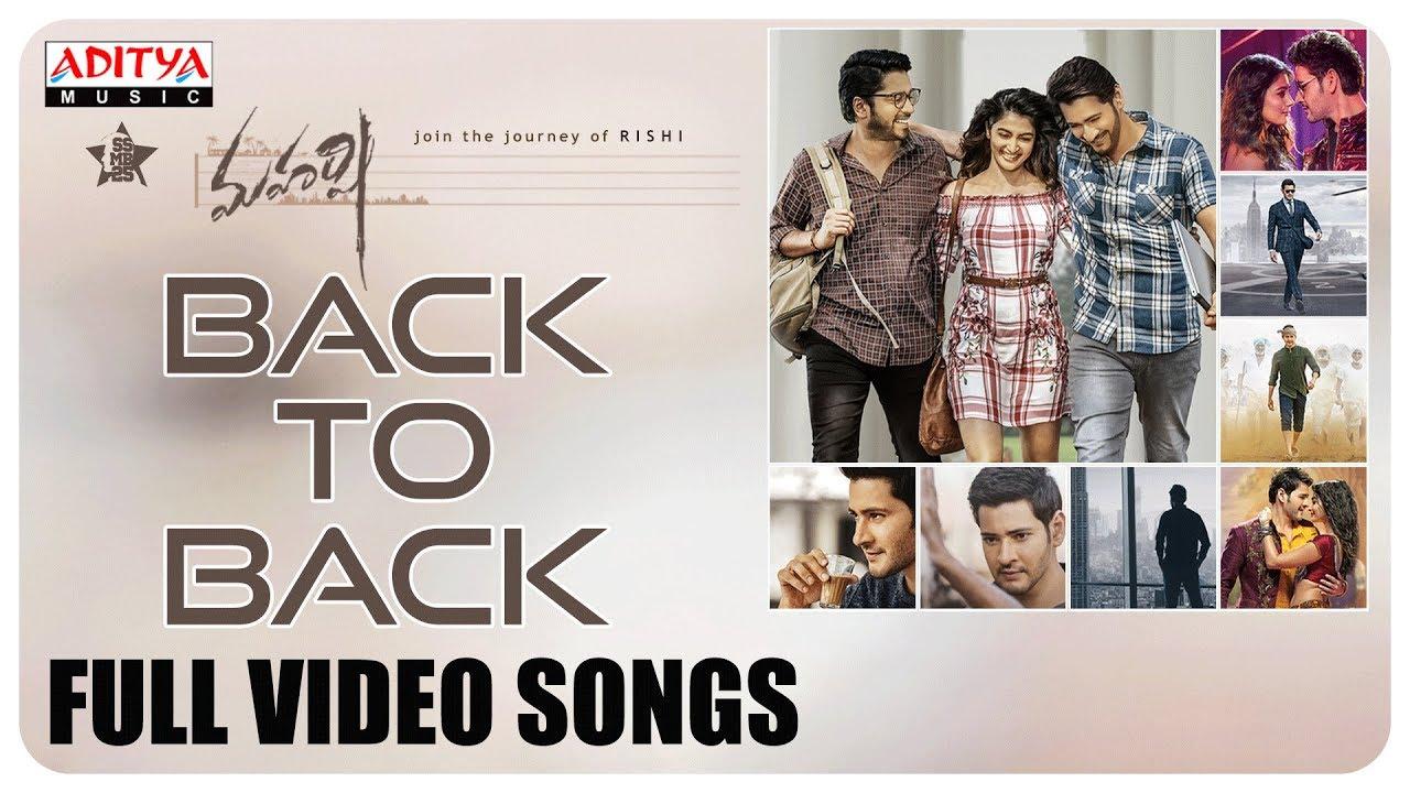 Download Maharshi Back to Back Full Video Songs || MaheshBabu, PoojaHegde || Vamshi Paidipally || DSP
