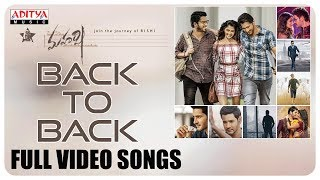 Maharshi Back to Back Full Video Songs || MaheshBabu, PoojaHegde || Vamshi Paidipally || DSP