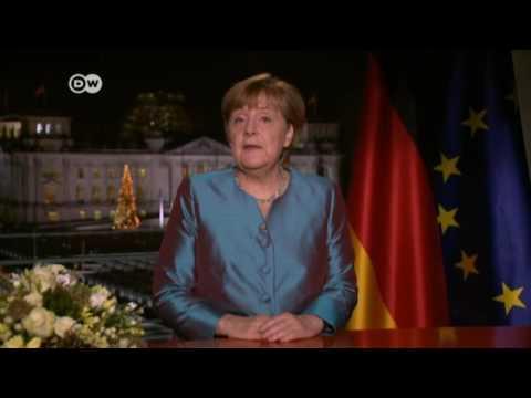 Angela Merkel  -  'Secure freedom' against terrorism