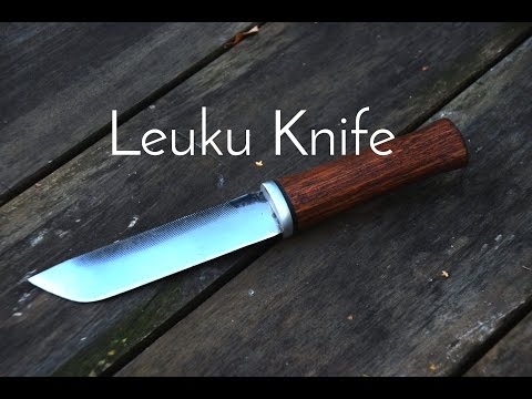 Making a Leuku Knife from a File - Knives&Stuff