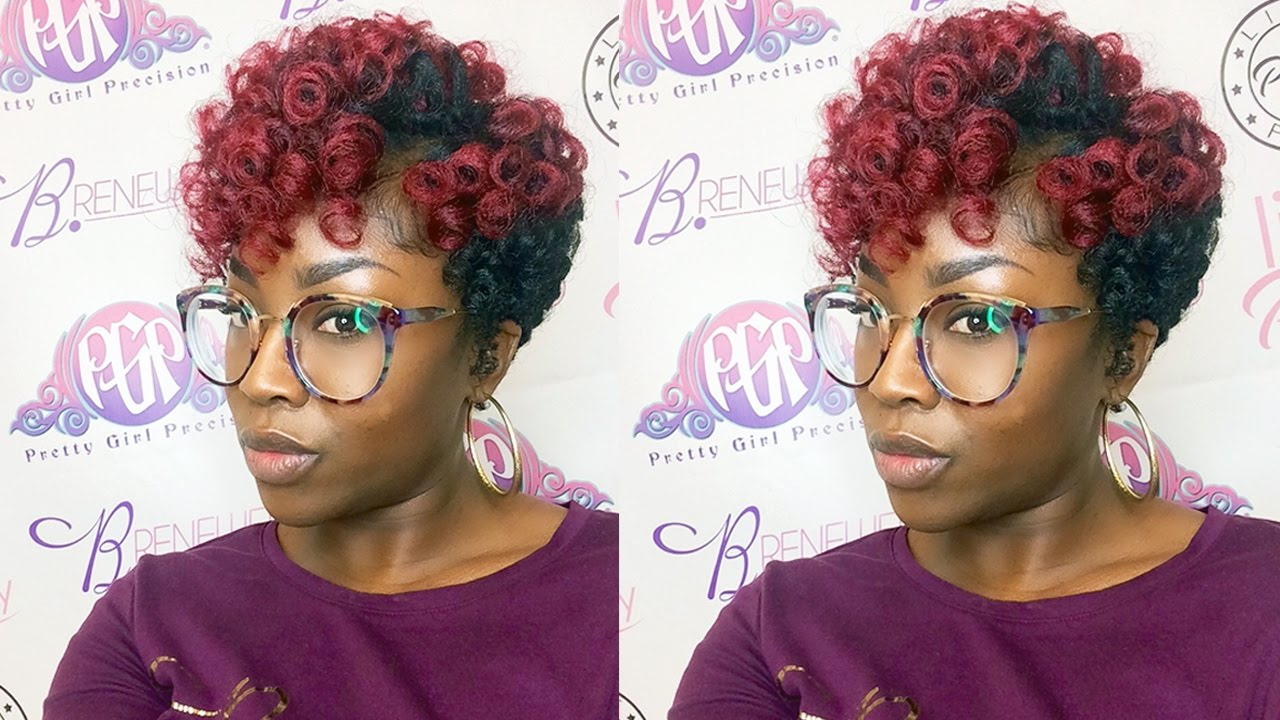 How To Twa Crochet Curlkalon Hair Review Youtube