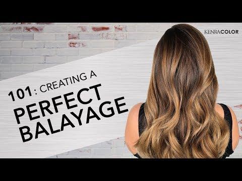 101: Learning the Basics of Balayage | Kenra Color