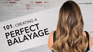 101: Learning the Basics of Balayage | Kenra Color