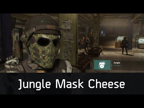 Jungle Mask Cheese   How I Got The Jungle Mask   GE Strike   The Division 1.8