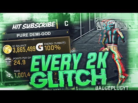 Every Glitch In NBA 2K18! VC, Animations, Dribble Moves, Etc.