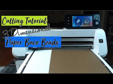 Buco Beads Paper Beads Cutting File Tutorial