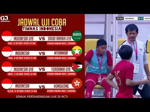 Berubah Lagi, Tidak Jadi Besok, Ini Jadwal Siaran Langsung Indonesia VS Yordania Di RCTI