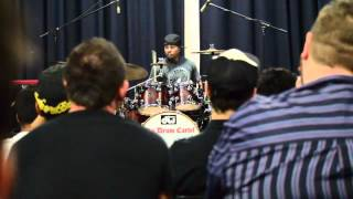Tony Royster Jnr. Clinic - Drum Solo - Brisbane - The Old Museum