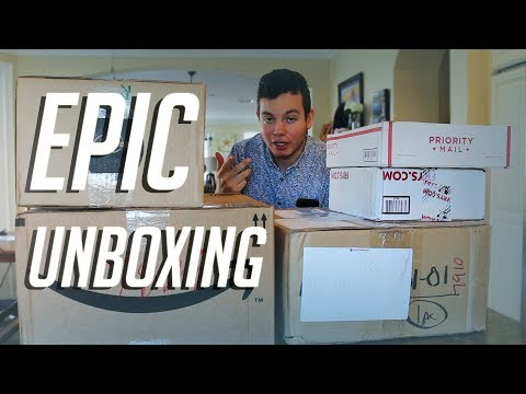 MASSIVE PC Hardware Unboxing! (GPUs, Cases, and more…)