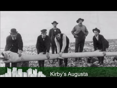 Kirby's Augusta - Sea Serpent in Savannah River