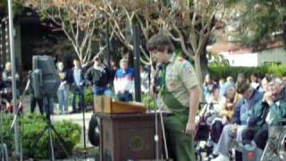 Yolo County Veterans Day, Woodland California - Woodland High School Essay Competition
