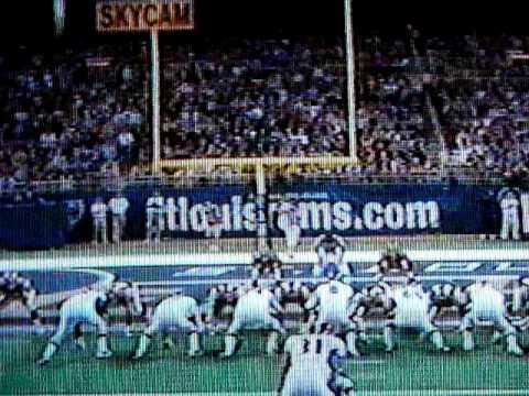 2003 Ravens @ Rams SNF: Jonathan Ogden Touchdown.