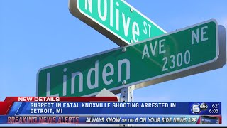 Suspect After From Fatal Knoxville Shooting