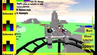 Roblox Defaultio's coaster creator