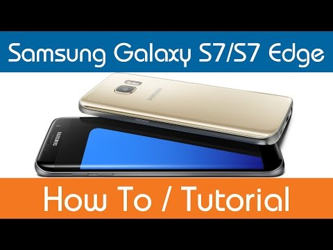 How To Access The User Manual - Samsung Galaxy S7