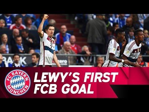 Lewandowski's First Bundesliga Goal for FC Bayern!