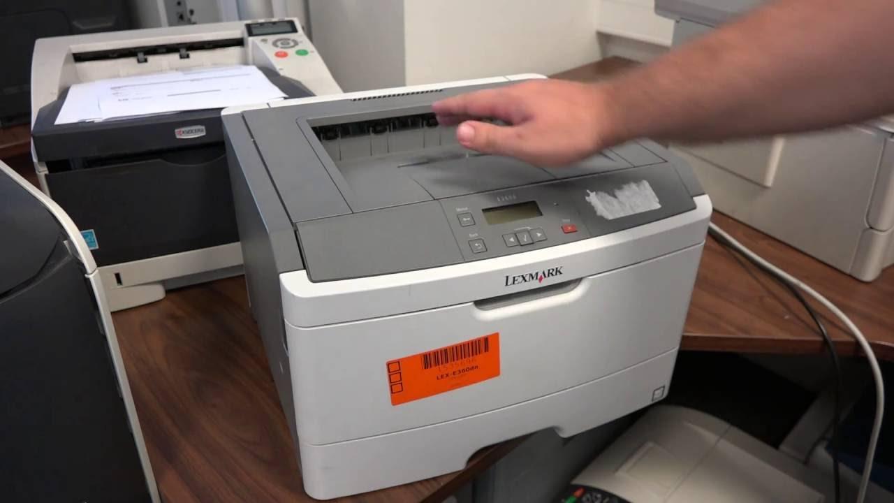 Lexmark E360d Printer 64 Bit