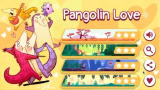 Pangolin Love Perfect Score Walkthrough (google Doodle 2017 Minigame) 3 Stars