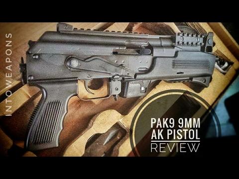 Chiappa PAK 9 (9mm AK) - Review & Test Fire of AK-9