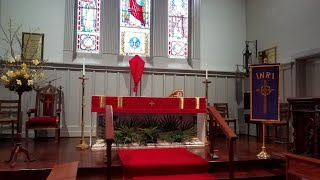 Palm Sunday at Emmanuel Episcopal, March 28