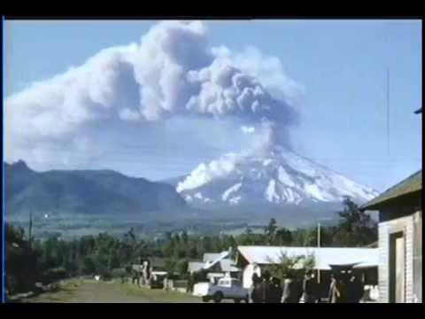 Volcán Villarrica - Erupción explosiva de 1971