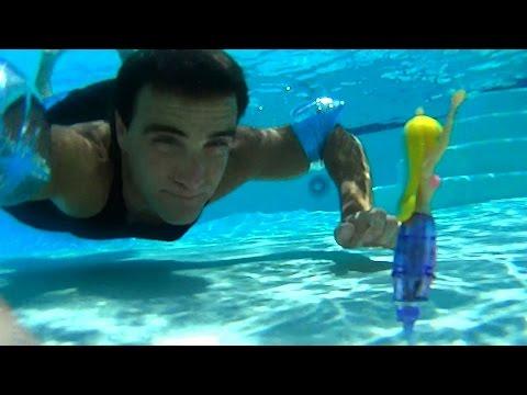 Swimming Underwater +  My Magical Mermaid Unboxing!    Girls Toy Reviews    Konas2002