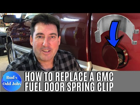 How to Replace a Chevy Truck Fuel Door Spring Clip