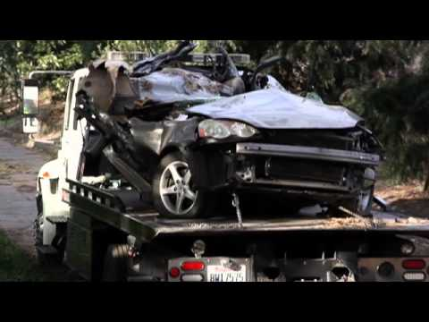 The Wreckage From The Fatal Crash On Highway 99 In Modesto, California -  Modesto News