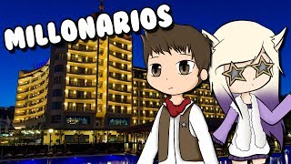WE ARE MILLIONARY AND WE MOVE TO A LUXURY BARRIO Roblox The Plaza in Spanish