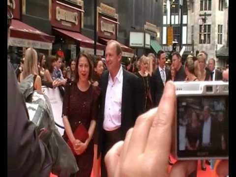 Peter Firth and Nicola Walker - BAFTA red carpet 2010