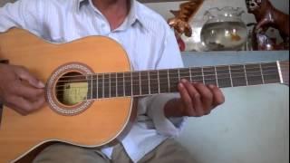 cách đàn bolero phăng tông Dm - guitar quang bình